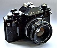 Use a Canon A 1 35mm Camera  http://www.wikihow.com/Use-a-Canon-A-1-35mm-Camera
