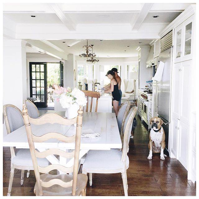 White Kitchen + Dining