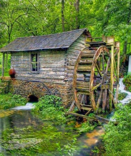 The Old Grist Mill, Near Eminence, MO.