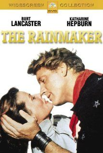 The Rainmaker (1956). Lizzie Curry is on the verge of becoming a hopeless old maid. Her wit and intelligence and skills as a homemaker can't make up for the fact that she's just plain plain! Even the town sheriff, for whom she harbors a secret yen, won't take a chance --- until the town suffers a drought and into the lives of Lizzie and her brothers and father comes one Bill Starbuck ... profession: Rainmaker!