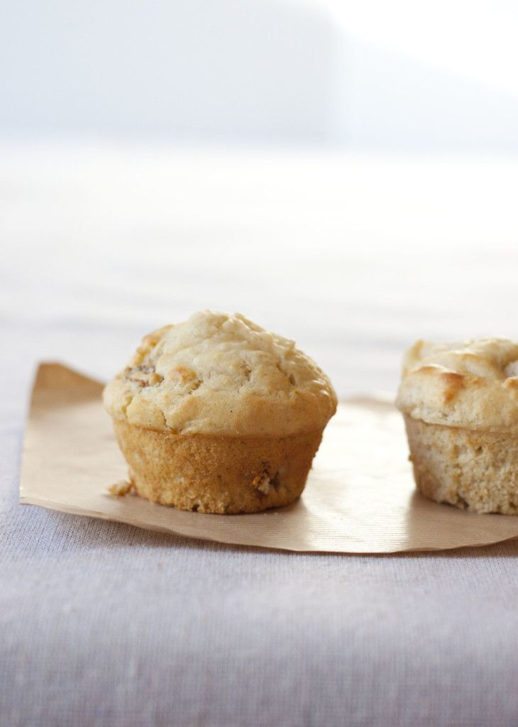 fiveandspice.com   Pear and fig morning muffins
