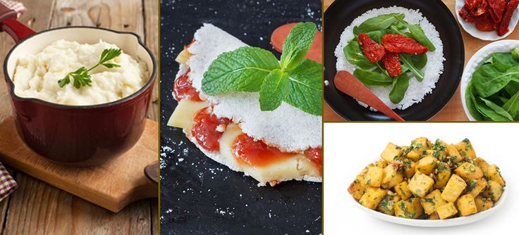 Receitas do Vigilantes do Peso para lanche, café da manhã e almoço, preparadas com mandioca. Tapioca doce romeu e julieta e pizza de tapioca | BH Mulher