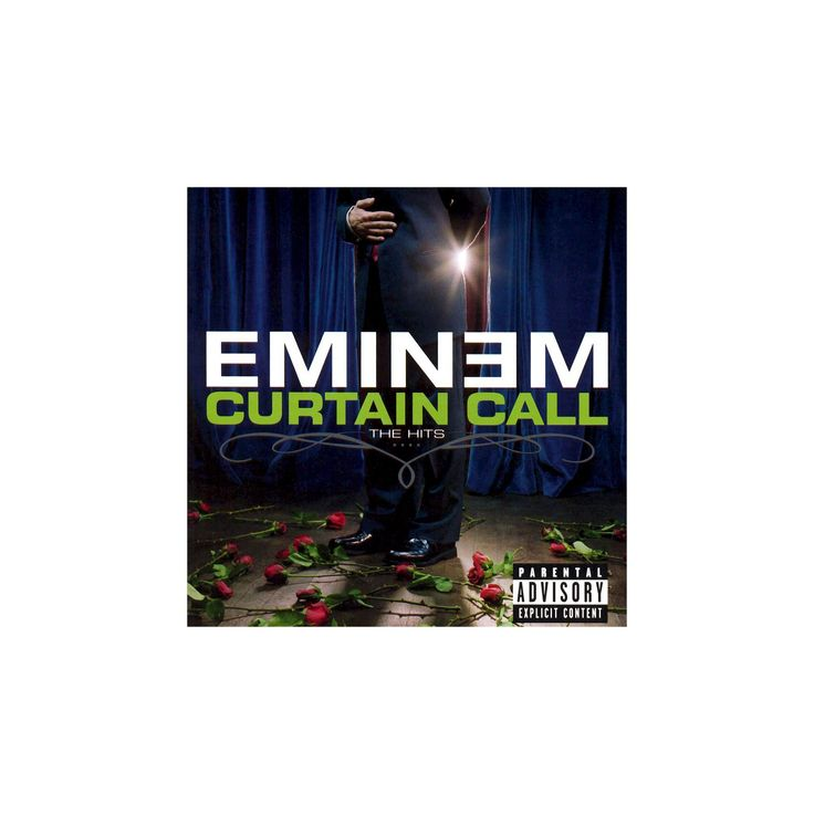 Eminem - Curtain Call: The Hits [Explicit Lyrics] (CD)