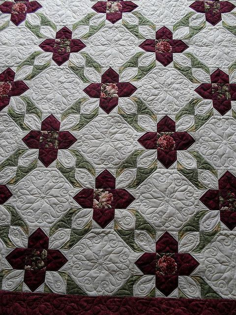 Really like this quilt pattern