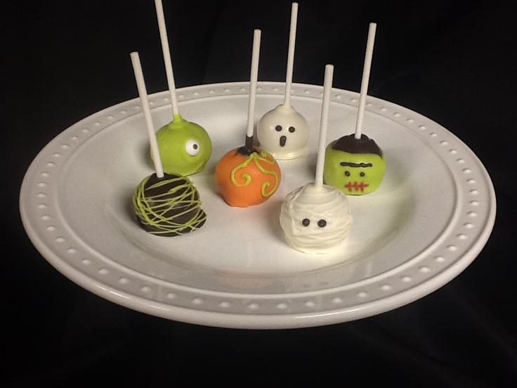 Halloween Cake Pop Decorating Ideas : Halloween Cake Pops Cake decorating ideas Pinterest