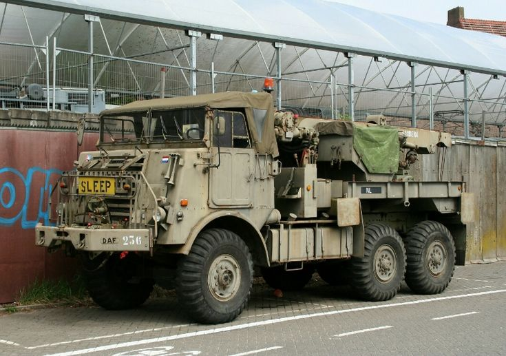 DAF YP626 Wrecker,used by the Durch Army...