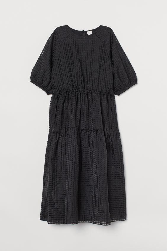 jacquard weave dress wadenlanges kleid kleider jacquard stoff