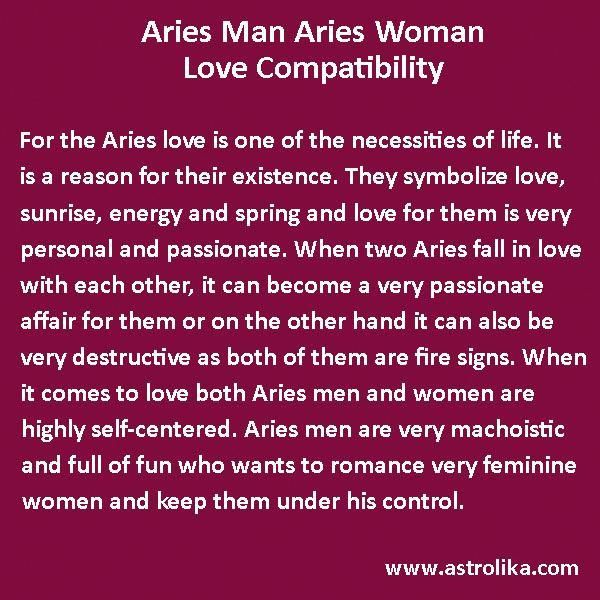 With An Aries Man