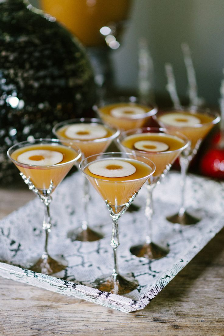 Apple and Bourbon Punch — a perfect cocktail for Fall or Halloween