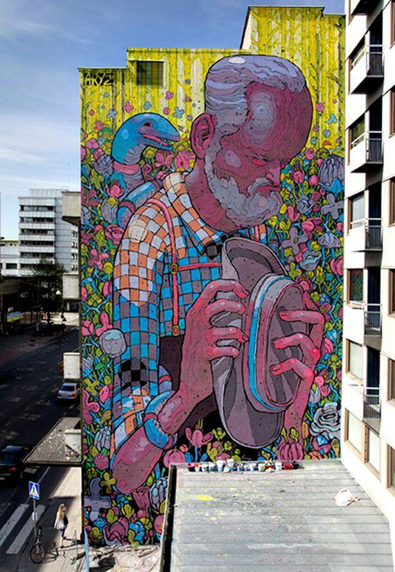 Colorful #ravenectar #streetart #art #graffiti