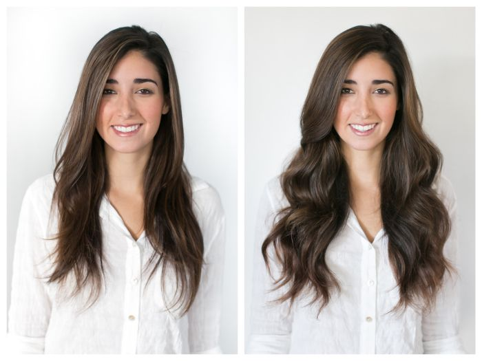 72 best hair extensions before and after images on pinterest clip in hair extensions before and after and how to do your own hair extensions with pmusecretfo Choice Image