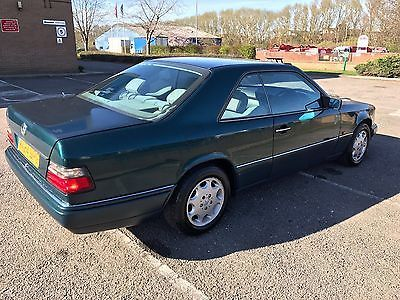 eBay: 1994 MERCEDES E220 COUPE AUTO GREEN LONG MOT W124 CE C124 FACE LIFT #classiccars #cars