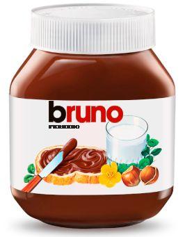 ¡Tengo una etiqueta de Nutella con mi nombre!