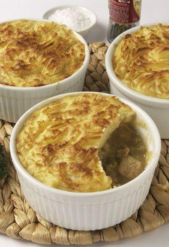 Chicken and leek potato top pie | Wilcox