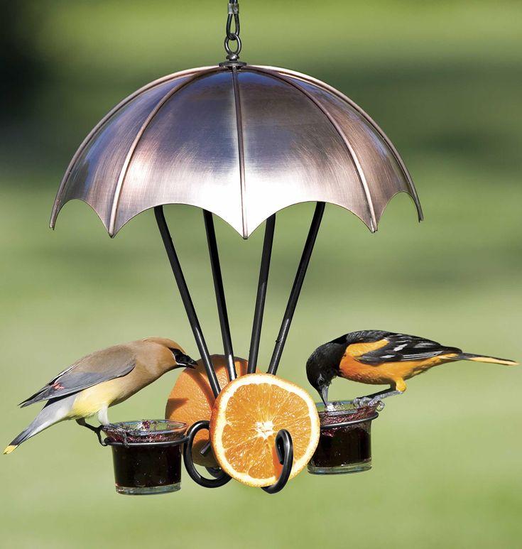 Glass Oriole Bird Feeder
