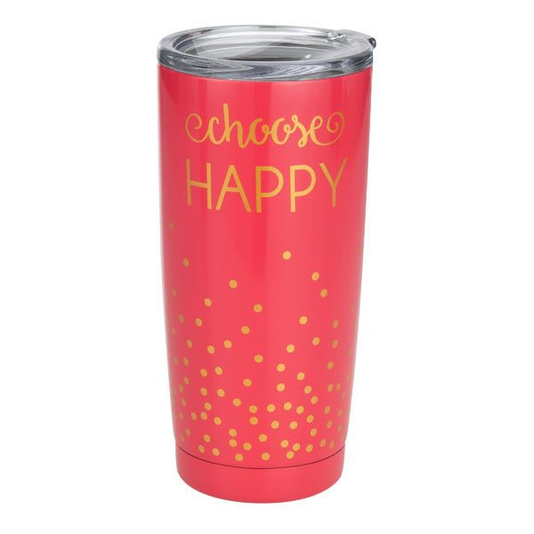 Insulated Tumbler-Choose Happy