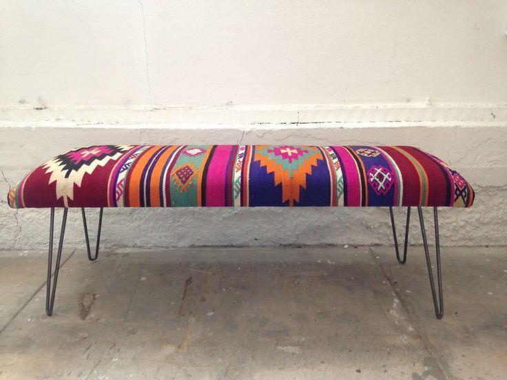 colourful | boho | bench |