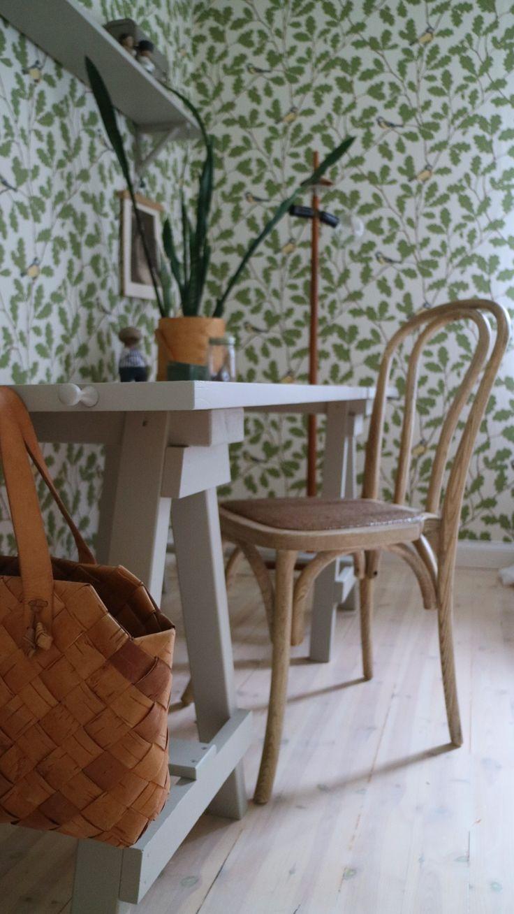 Bedroom | Wallpaper Waldemar | Sandberg Wallpaper Blog_Frida