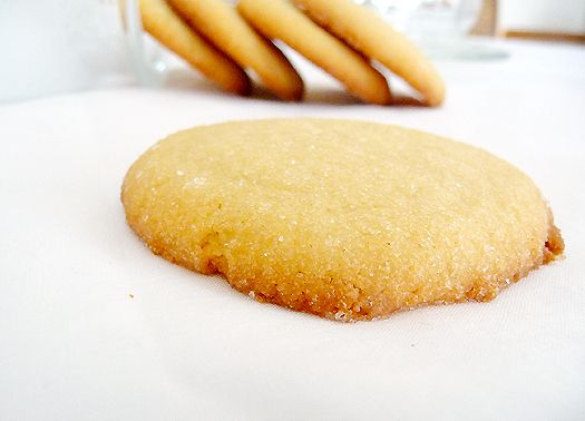 Soft, Chewy sugar cookies. I just finished making these and they are, hands down, the best sugar cookies I've ever made from scratch! Great recipe.