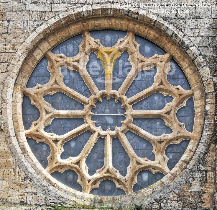 Rosetón, Nuestra Señora del Manzano, #Castrojeriz #Burgos