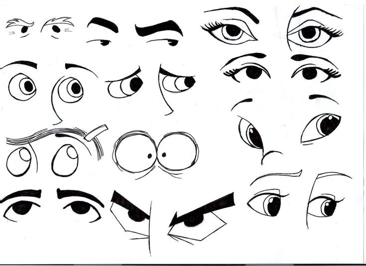 Line Drawing Eye : Cartoon eyes google search drawing bits pieces