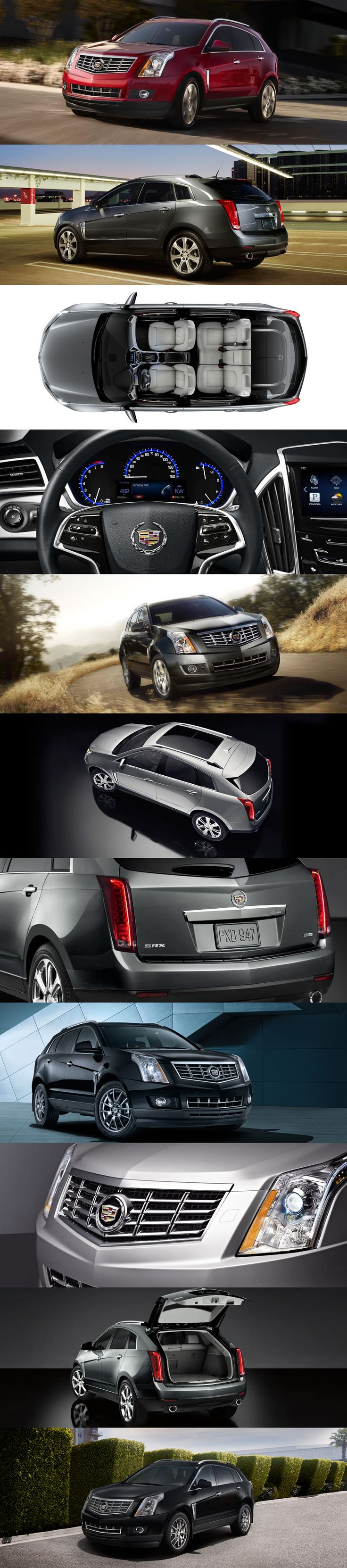 CADILLAC 2013 SRX CROSSOVER- someday I will have this car!