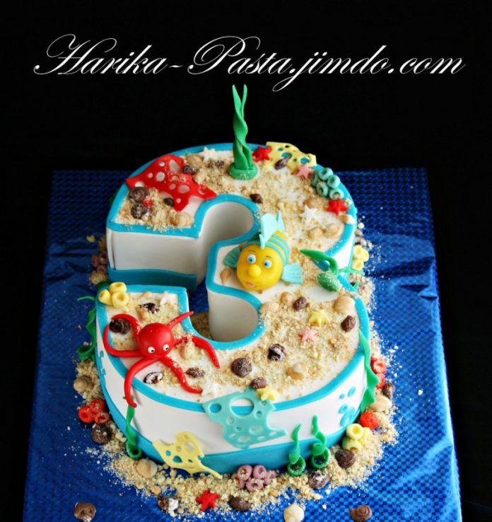 3 Yaş Pastası Modelleri, Yapımı ve Kalıpları