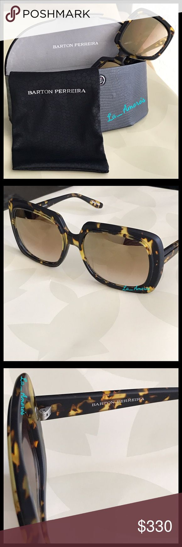 Barton Perreira Sunglasses (% Authentic) % Authentic Barton Perreira Sunglasses •Style: Renaissance • Acetate Frame •100% UV gradient lenses •Made in Japan •NEW •Style #RENA5602 Barton Perreira Accessories Sunglasses