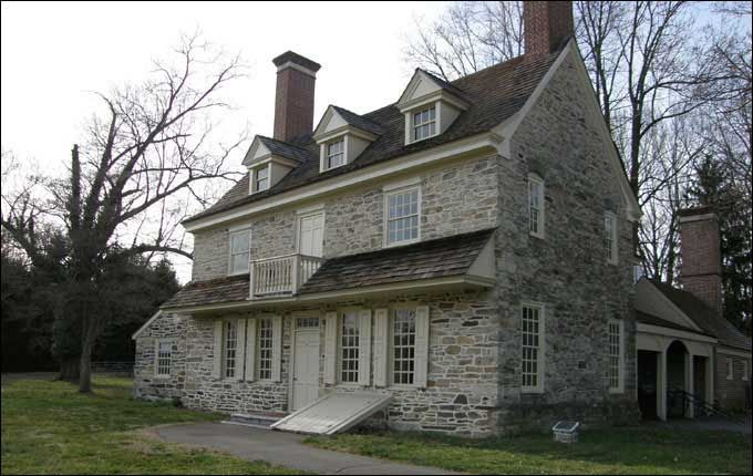 Love Love the old stone homes...This one is open to public. Bryn Mawr,Pa close to Philadelphia...many many stone houses in the area...well-built and intriguing