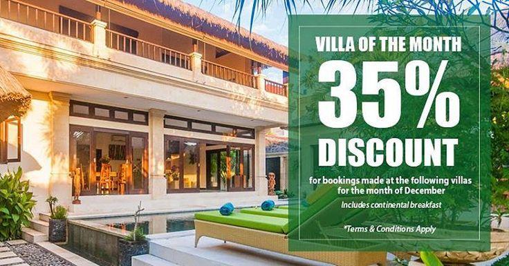 December special ^_^ 35%off www.geriabalivacation.com/deals/ #bali #villa #seminyak #hgtv #seminyakvilla #balivilla #tbt #beautifuldestinations #tgif #destinosmaravilhososbyeli #luxuryworldtraveler...