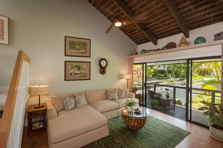 Living room. Designed by Archipelago Hawaii; Built by Mokulua High Performance Builders; and Photography by Augie Salbosa.