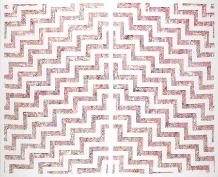 Tuhourangi Poutama (The Pink and White Terraces) Peata Larkin (New Zealand 1973)
