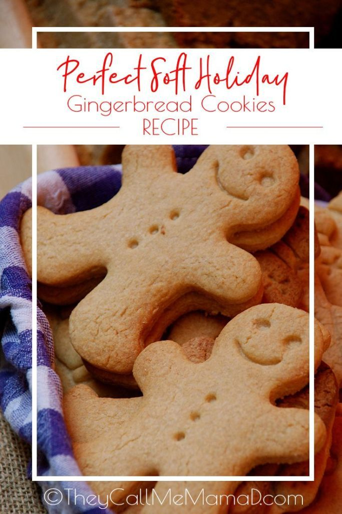 These Perfectly Soft Gingerbread Cookies Are Soft Lightly Spiced