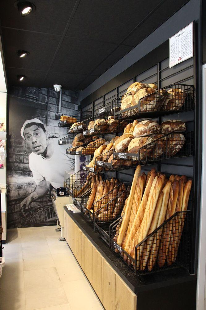 Boulangerie Agencement Ptisserie Portrieux Fournil Saint Quai Le De Interieur De Boulangerie Boulangerie Patisserie Boulanger Patissier