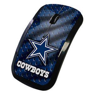 Dallas Cowboys Wireless Computer Mouse