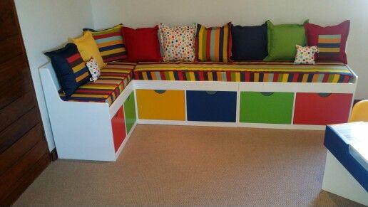 Playroom Bench