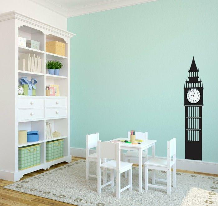 Kinderzimmer Wandfarbe Grun : 1000+ Ideen zu Hellgrüne Wände auf Pinterest  Grüne zimmer