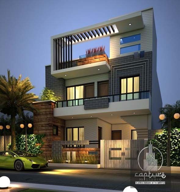 Best Modern Home Exterior Designs For You With Images Facade