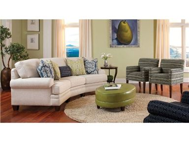 Shop For Smith Brothers Conversation Sofa And Other Living Room Sofas At Habegger Furniture Inc In Berne IN Comfort Wrinkles Are Designed To Appear