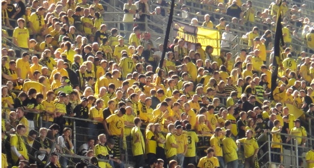 dortmund and terraces
