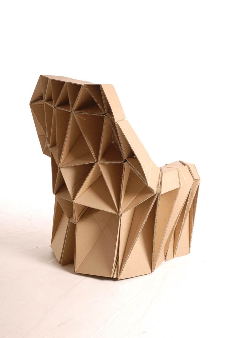 Corrugated Cardboard Furniture 47 Best Chairs Images On Pinterest Cardboard Chair Cardboard