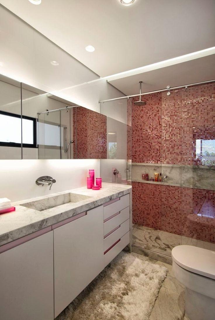 Ideias De Decoração De Banheiros Com Pastilhas : Melhores ideias sobre pastilha vermelha no