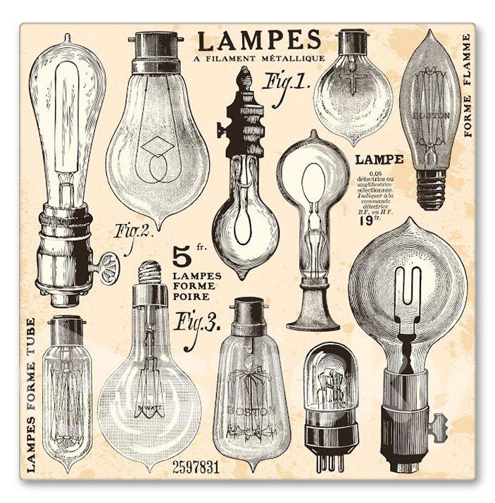 lampes à filament métallique