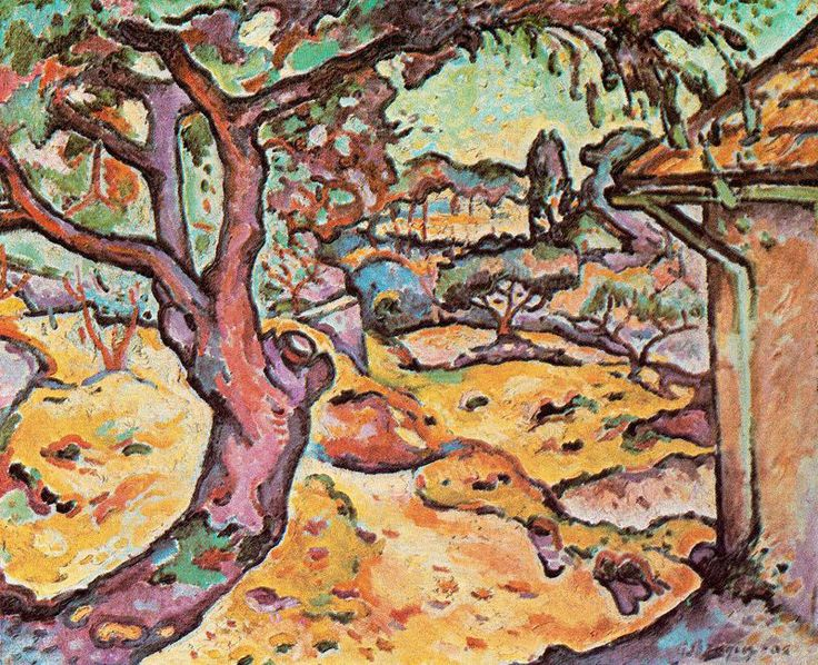 Braque, 1906, L'Olivier près de l'Estaque (The