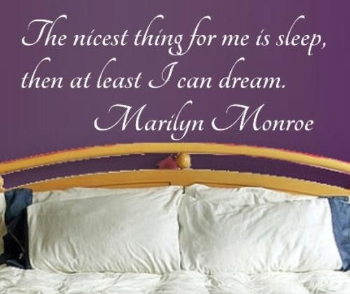 DREAM MARILYN MONROE QUOTE TYPE 1 WALL ART STICKER EXTRA LARGE VINYL DECAL
