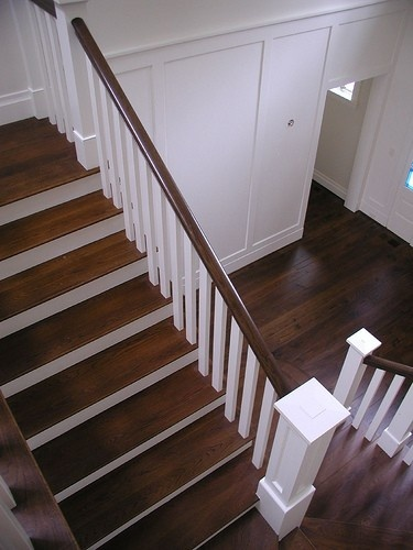 Replacing half walls with open stairs; Replacing carpet with solid treads and risers; Inexpensive retrofit of wood balusters to iron balusters leaving your existing treads, newel posts and handrail; Replacing and updating entire staircase; Cascade Stair Company serves the greater Seattle, Everett and Tacoma areas. Please call for a free quote.