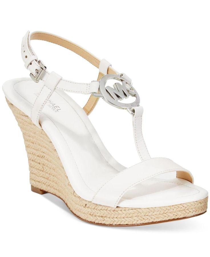 Michael Michael Kors Tania Espadrille Wedge Sandals
