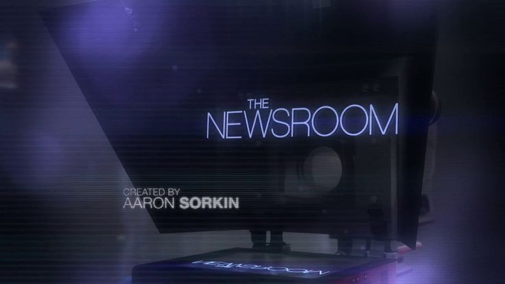 The Newsroom title sequence