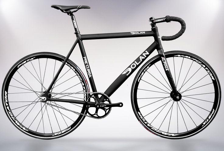 Black pre cursa  Dolan track bike
