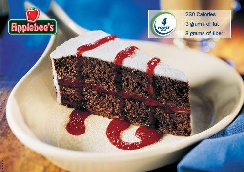 Chocolate Raspberry Layer Cake Recipe - 4 Point Value - LaaLoosh